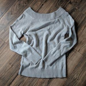 Banana Republic Cream Knit Cowl Neck Sweater